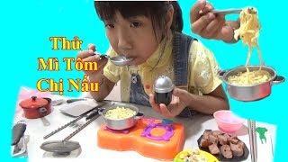 Bữa Mì Tôm Chị Nấu MẶN Như Muối ❤Trò chơi Nấu Ăn❤ Baby channel❤