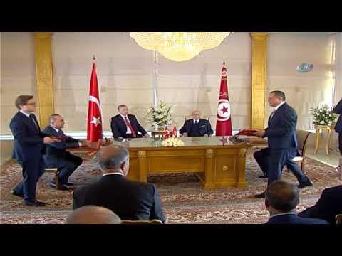 Türkiye İle Tunus Arasında 4 Anlaşma İmzalandı