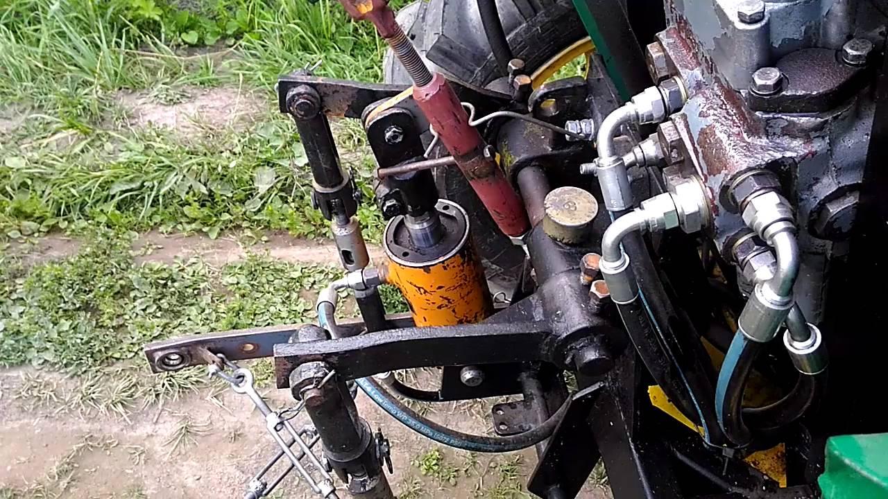 Гидросистема самодельного минитрактора своими руками 396