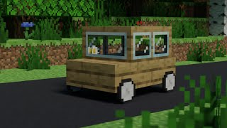 How to build a car you can go in on Minecraft