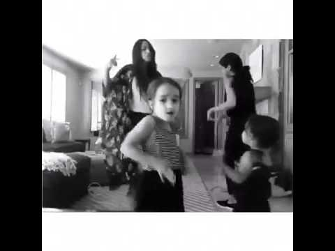 Selena Gomez Dancing To 'What's My Name' By Rihanna feat.  Drake