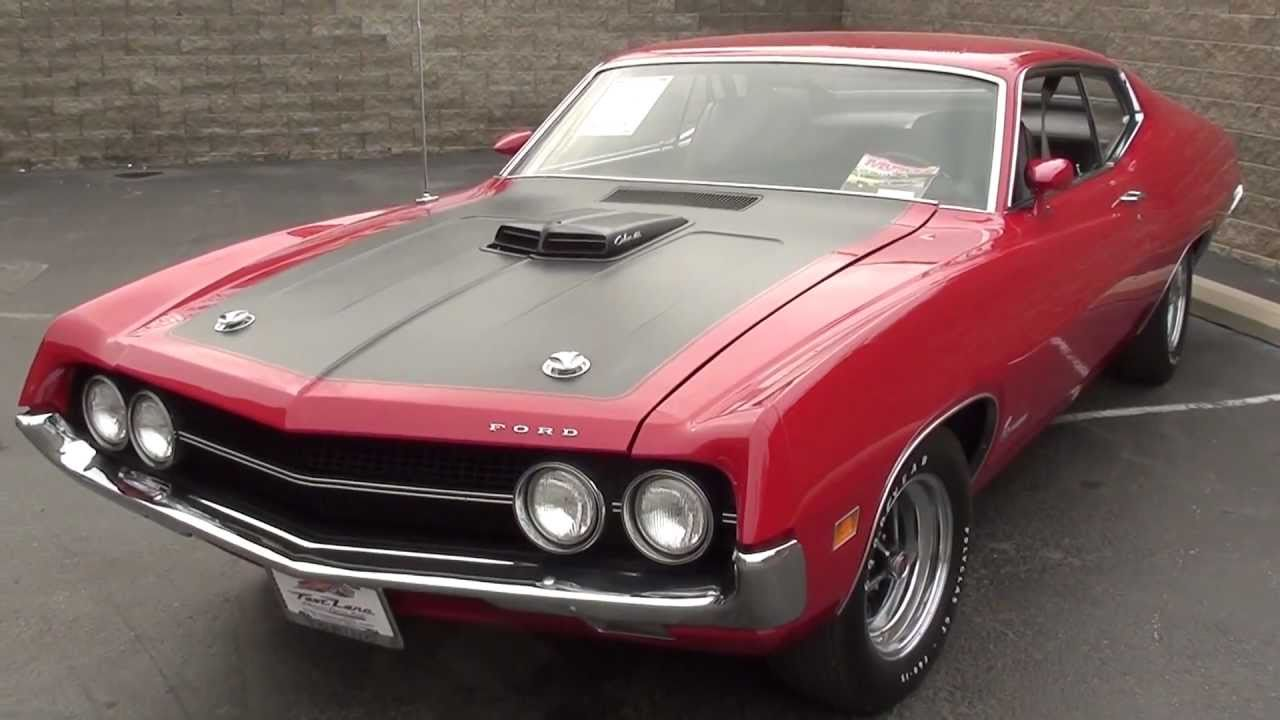 1970 Ford Torino Cobra - 429 Cobra Jet - Muscle Car - YouTube