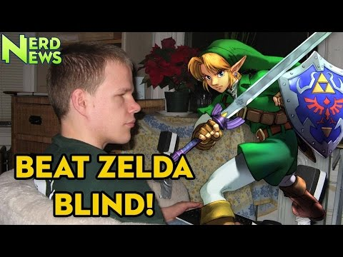 BLIND Gamer Completes Ocarina of Time!