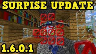 Minecraft Xbox / PE 1.6.0.1 SURPRISE UPDATE - Barriers & Phantoms