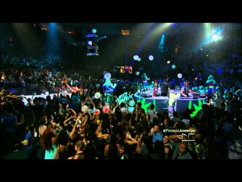 Premios Juventud 2012  3Ball MTY Inténtalo Me Prende Dj Erick Rincon