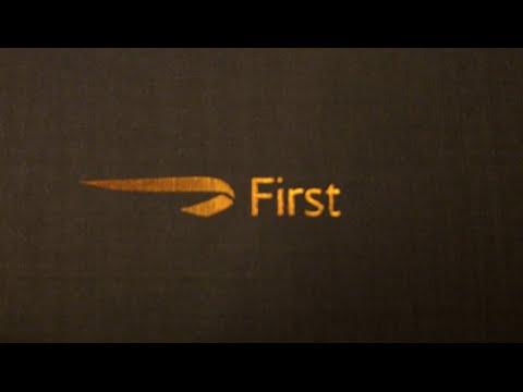 British Airways First Class, Boeing 747, San Francisco to London Heathrow