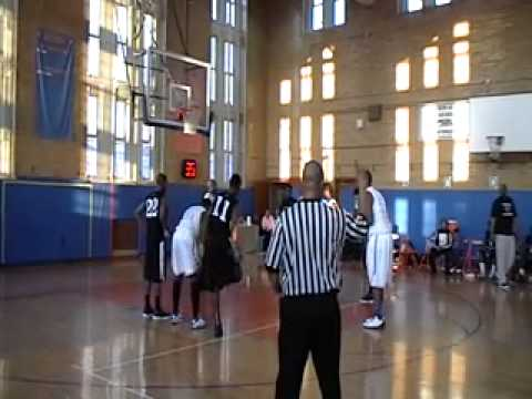 Marshall Academy NY vs Thomas Edison @ The Bayside Holiday Tournament 01/07/2012 Part 1