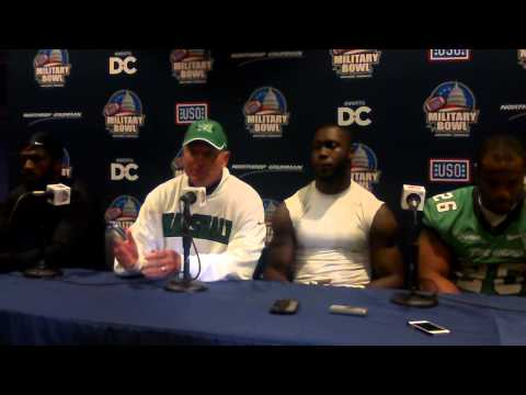 military bowl postgame