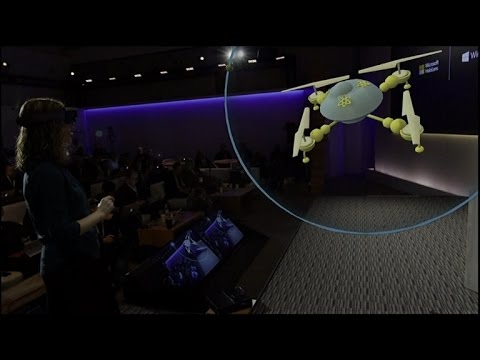 See Microsoft's Holographic computing in action