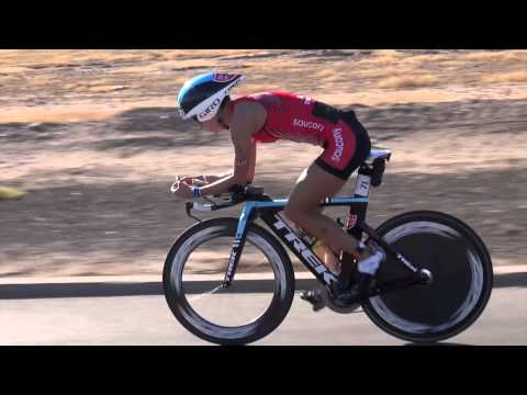Linsey Corbin Race Footage, 2012 Ironman Arizona Champion