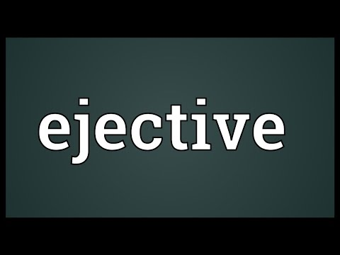 Header of ejective