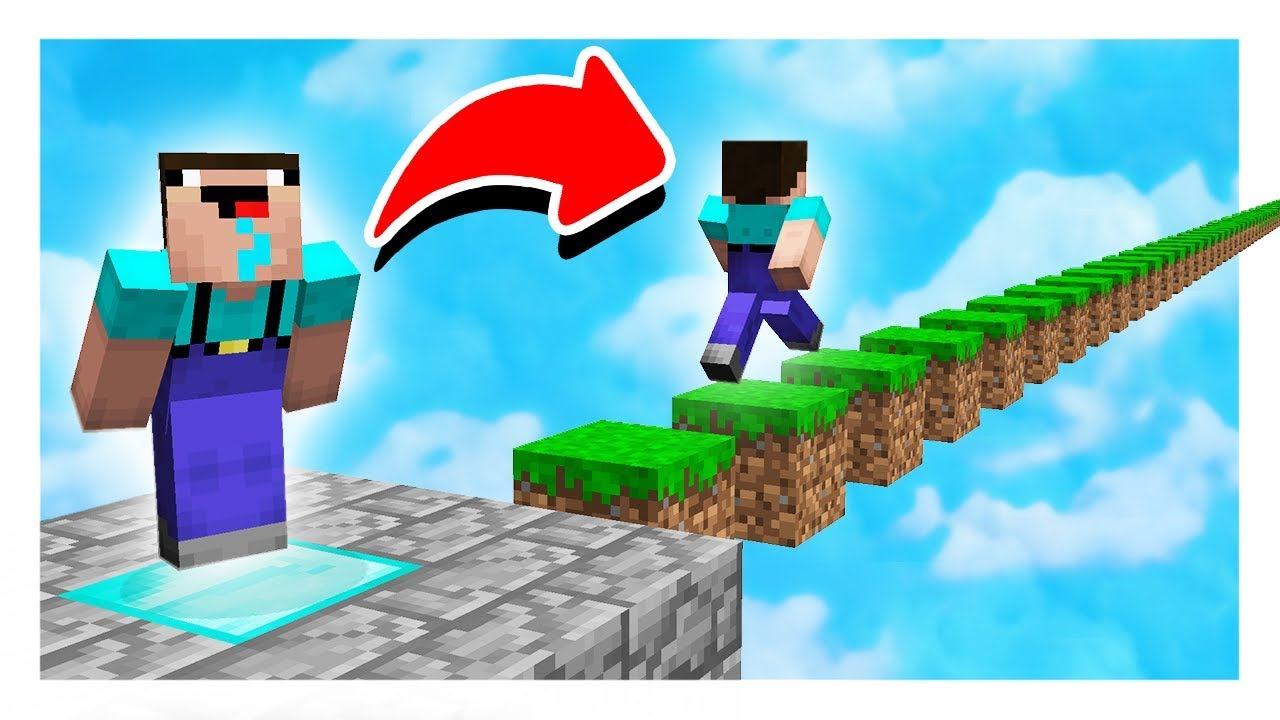 Minecraft SKY JUMPER PARKOUR! - (Minecraft Trolling) with PrestonPlayz & Kenny