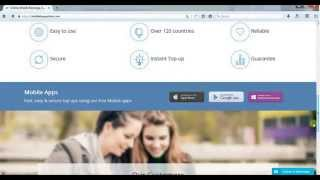 How to make Online Mobile Recharge, International Online Mobile Top up with Payeer