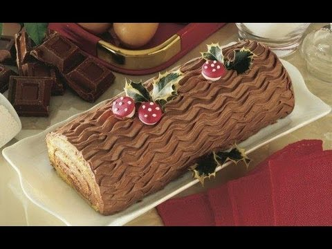 tronchetto di natale pumpkin roll cake cooking