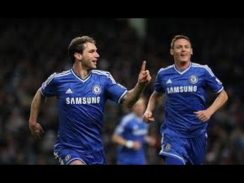 Branislav Ivanovic Goal 1:3 Chelsea Vs Burnley (Premier League) 2014-2015 HD