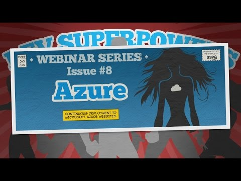 Continuous Deployment to Microsoft Azure Websites | Dev Superpowers 8