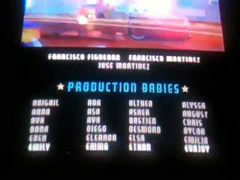 Cars  End Credits Youtube