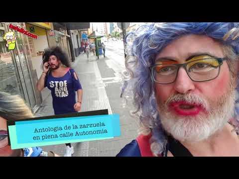 EL DIARIO DE NAGORE GORE: Antologia de la Zarzuela en plena calle Autonomia