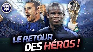 Les Bleus en folie au Stade de France, un nouveau maillot 2 étoiles à gagner - La Quotidienne #309