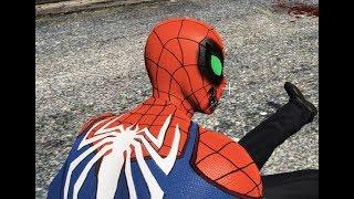 GTA 5 - Spiderman.exe người nhện bị khống chế | GHTG
