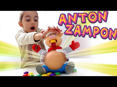 Antón Zampón! Juego de mesa con Andrea. Divertilandia!