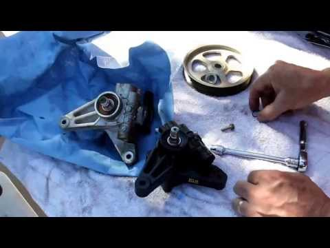 2005 Honda Odyssey Power Steering Pump Replacement