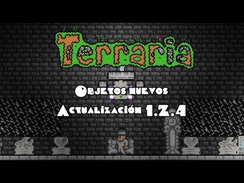 Items nuevos actualización 1.2.4 - Terraria