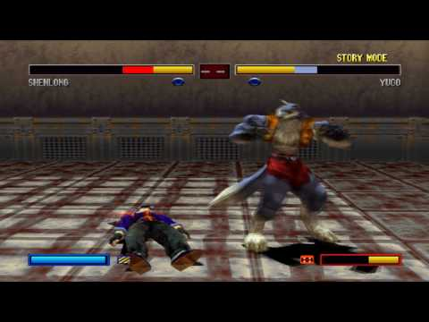 Bloody Roar 2 - ShenLong Story Run Through (HD)