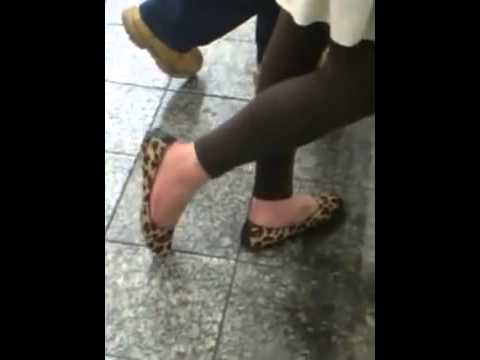Candid Puerto Rican Shoeplay Dipping YouTube   YouTube