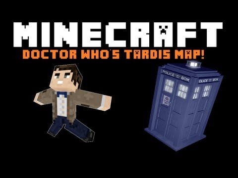 Minecraft Map: Doctor Who's TARDIM!