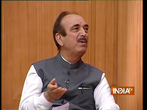 Ghulam Nabi Azad Speaks on Modi's Warm Welcome in Foreign Countries - India TV