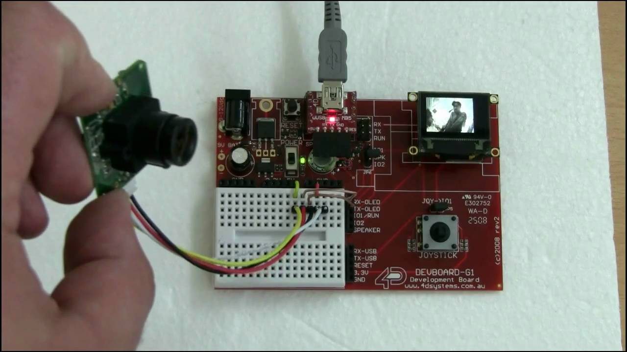 Ucam ttl streaming live video to uoled g gfx part