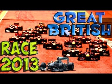 F1 2013 - Grand Prix de Grande Bretagne Silverstone - Course - Saison 2