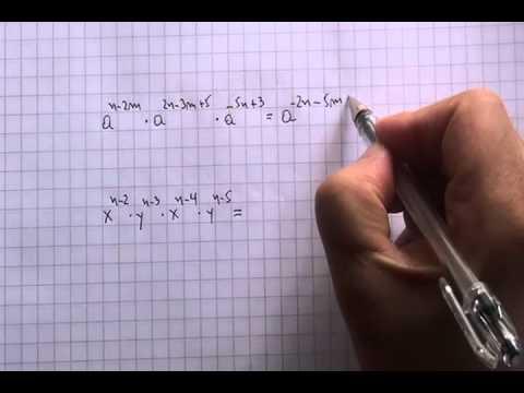 Multiplicacion de potencias de igual base 04
