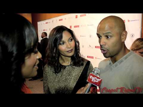 Salli Richardson-Whitfield & Dondre Whitfield at 21st Annual Pan African Film Festival #PAFF ...