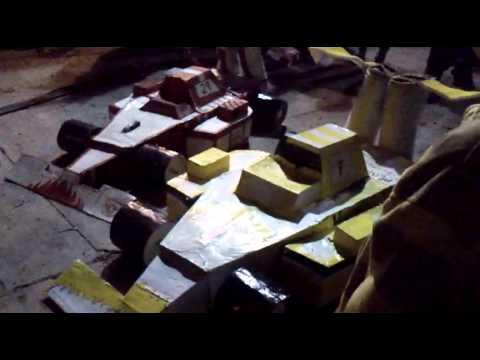 TRANSFORMERS  DE FORMULA 1 EN BOXASNI CADEREYTA 2015