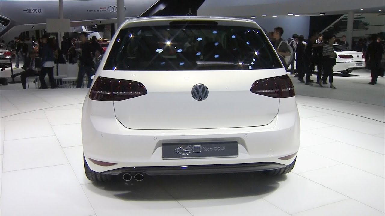 volkswagen golf 7 edition luxury concept youtube. Black Bedroom Furniture Sets. Home Design Ideas