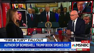 Jew Michael Wolff: Trump's 'Aware of Who Is Jewish in a Way That Feels Creepy'