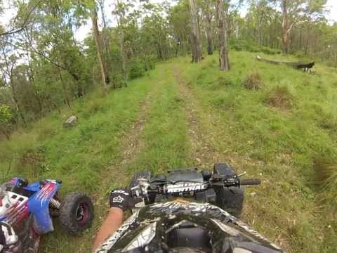 Yamaha Banshee's trail riding Gopro hero 3