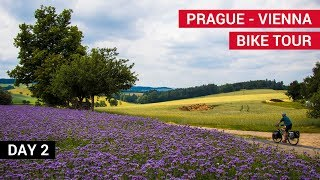 Prague to Vienna Bike Tour (Day 2) - Bicycle Touring Pro / EP. #238