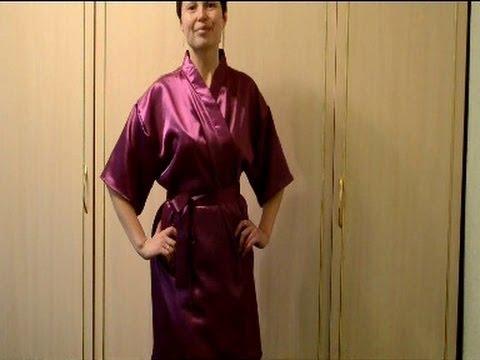Ольга никишичева халат с запахом своими руками