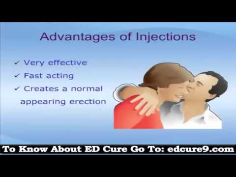 Self Injuction Treatment For Erectile Dysfunction | What Is ED, Casues And Symptoms thumbnail