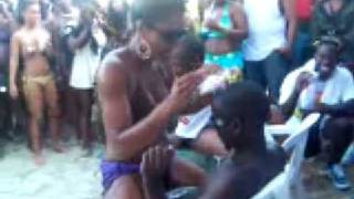 Top Boyz Beach Party @ Nissi Beach Ayia Napa 2008 - No means no lol