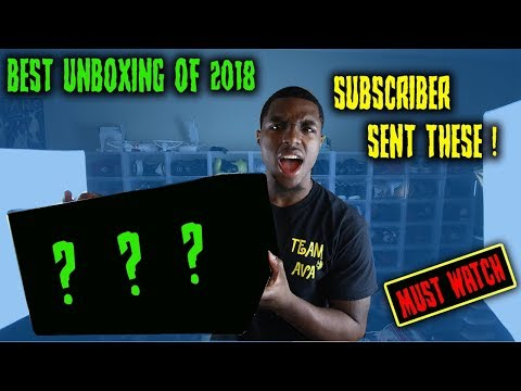 THE BEST UNBOXING OF 2018!! MUST WATCH