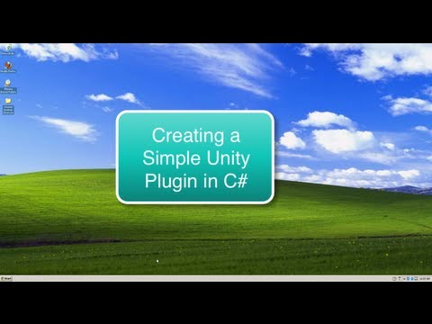 Creating a Simple Unity Plugin in C#