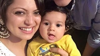 Drashti Dhami with her nephew (super adorable)