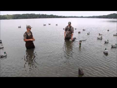 Quick and Simple Duck Decoy Spread