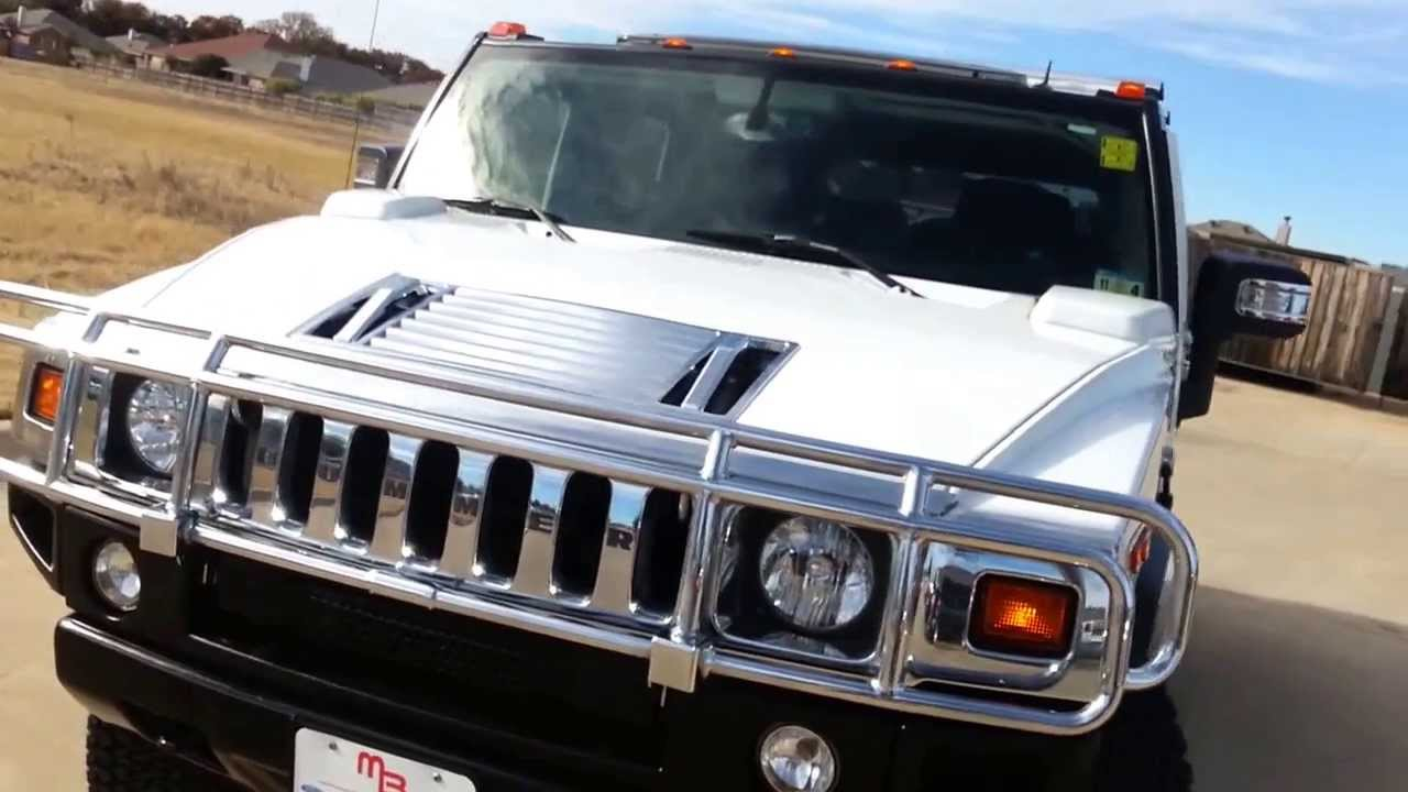 29 999 for sale white 2007 h2 hummer tdy sales youtube. Black Bedroom Furniture Sets. Home Design Ideas