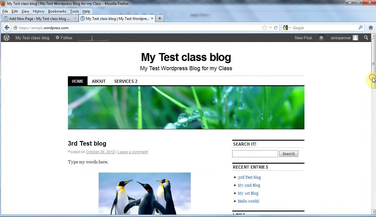 Create a free blog or website on youtube for Build blog