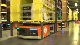 Amazon warehouse robots Auto